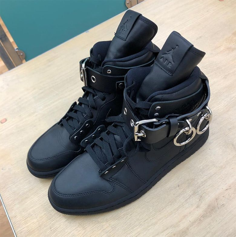 Jordan 1 Cdg Black Paris Fashion Week