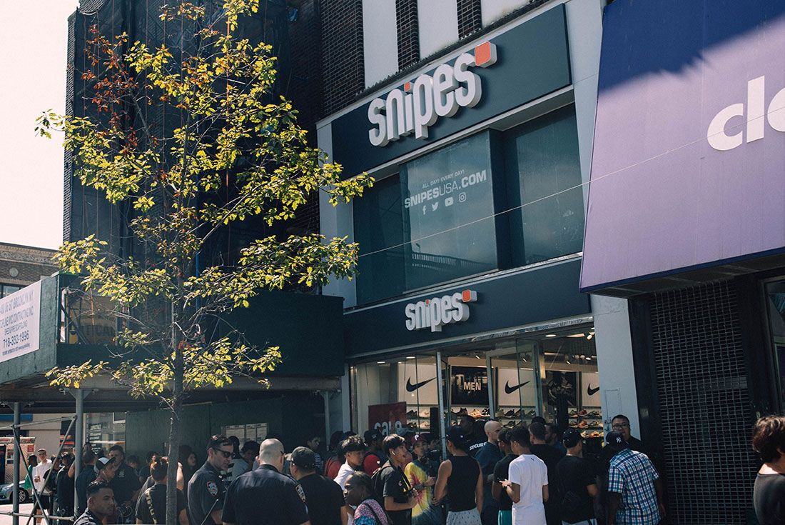 Snipes Store Opening Brooklyn Store Shot5
