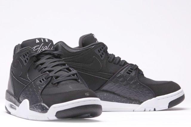 Afew Store Sneaker Nike Air Flight 89 Black White Coolgrey 14