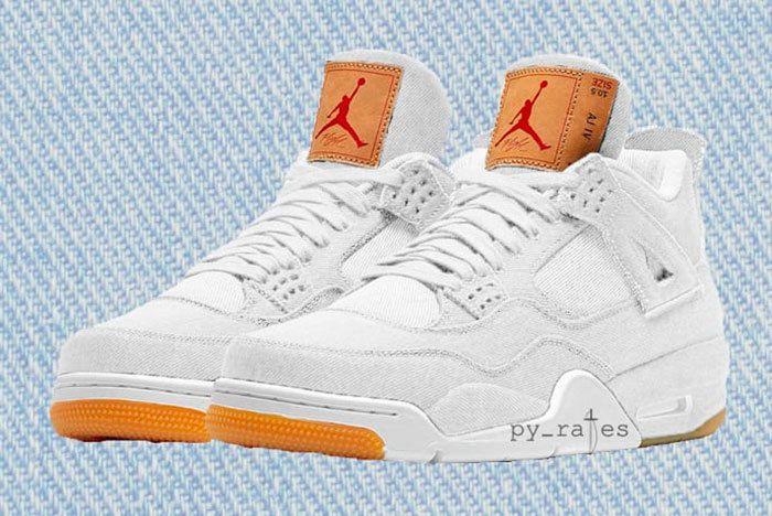 Levis Jordan 4 Sneaker Freaker 1