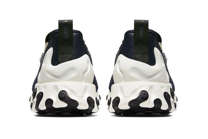 Nike React Sertu Blackened Blue At5301 400 Release Date Heel