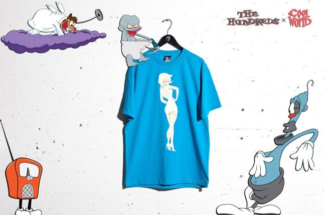Cool World The Hundreds Blue Tee 1