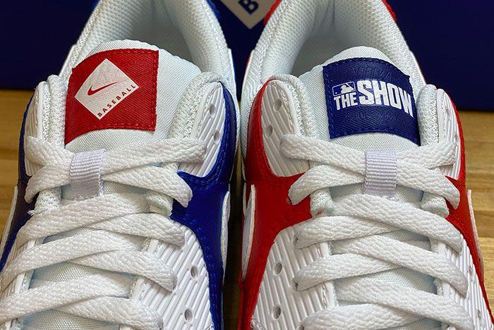 Mlb The Show Nike Air Max 90 Tongue