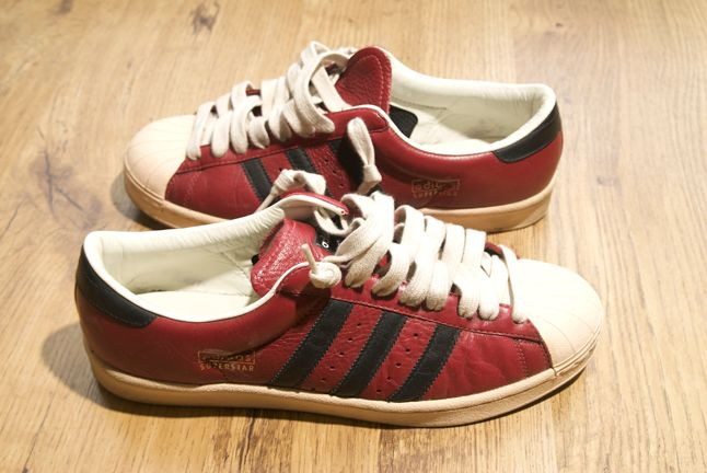 Adidas Superstar Red Leather 1