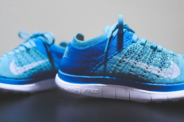 Wmns Flyknit 4 0 Turquoise Closeup