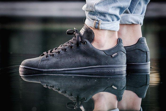 Adidas Stan Smith Gore Tex Core Black 1