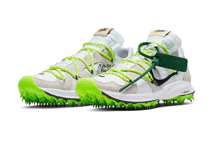 Off White Nike Zoom Terra Kiger 5 White Release Date Pair
