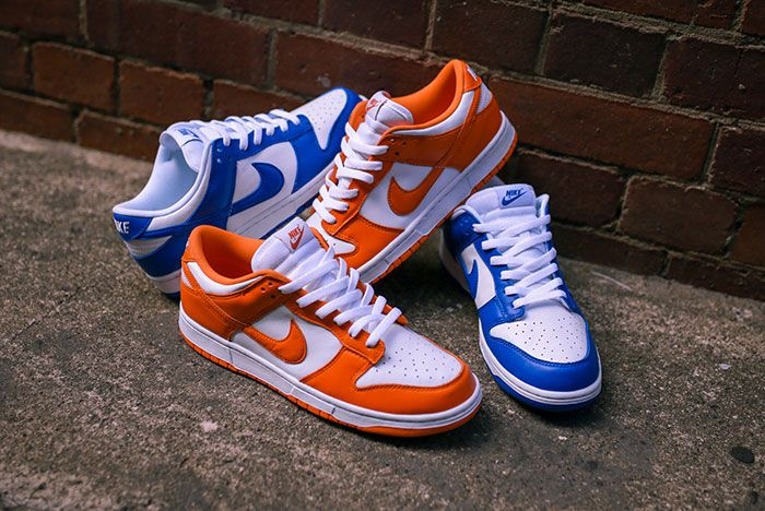 Nike Dunk Low Kentucky Syracuse Up Close Hero Shot Laced Sneaker Freaker5