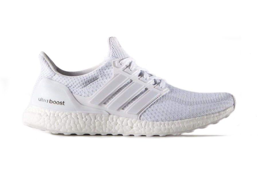 Another Triple White Adidas Ultra Boost Is Hitting Shelves4