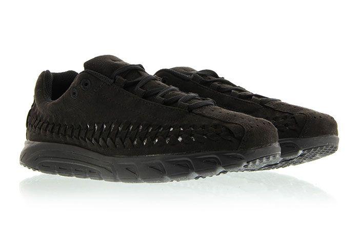 Nike Mayfly Woven Triple Black 5