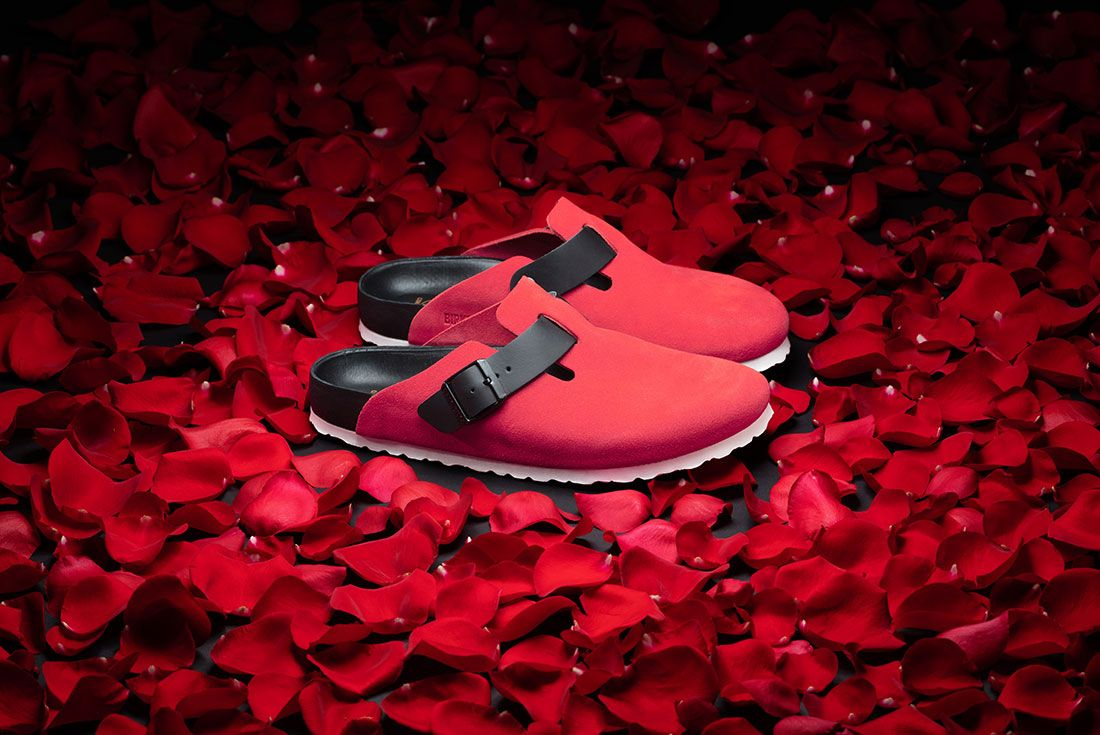 Concepts Birkenstock Boston Rose Lateral