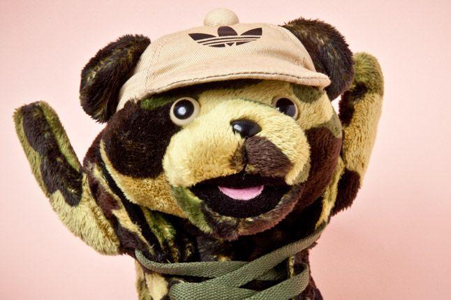 Adidas Originals Js Camo Bear Face 1