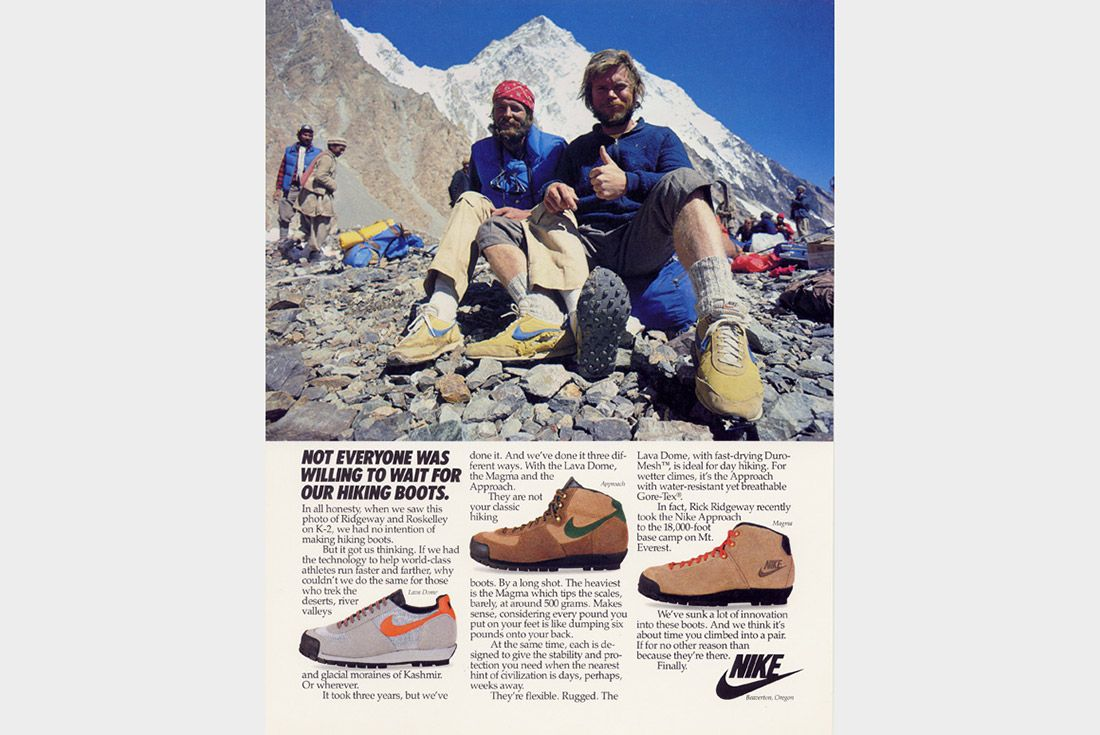 Material Matters The History Of Gore Tex Nike Ad