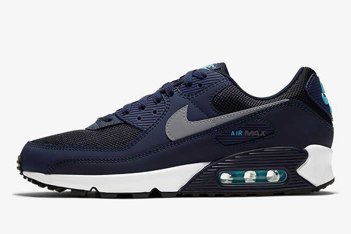 Nike Air Max 90 Cv1634 400 Lateral