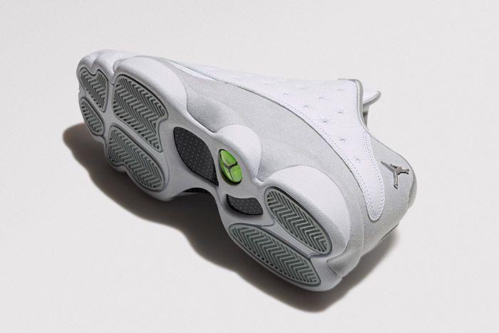 Air Jordan 13 Low Pure Platinum 1