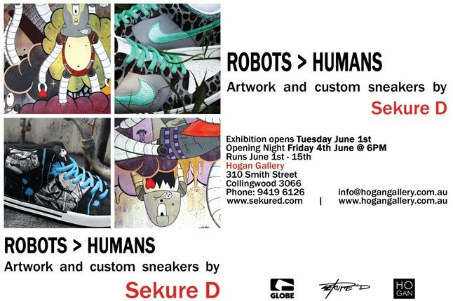 Sekure D Robots Humans Exhibition 1