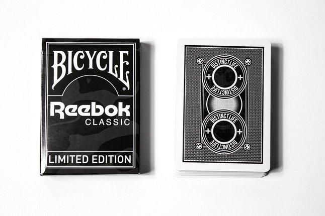 Distinct Life Bicycle Reebok Classic Playing Cards 1