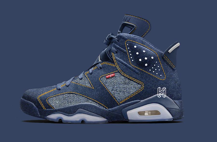 Levis Air Jordan 6 2020 Release Date