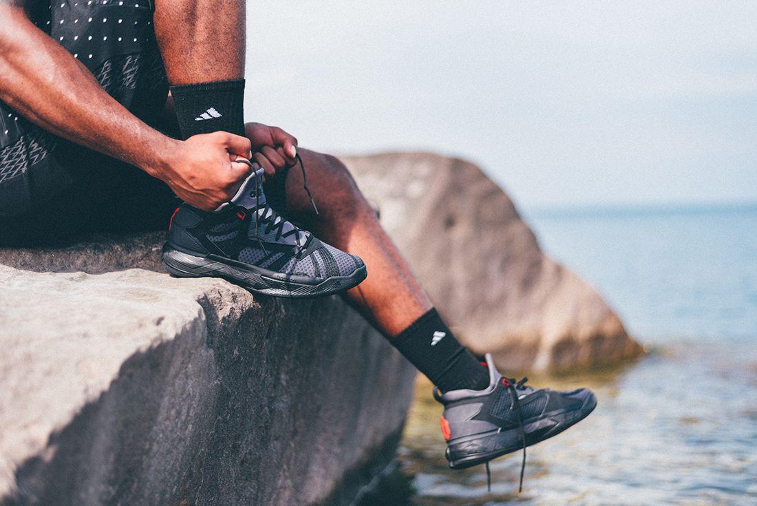 Adidas D Lillard 2 Shark Black 3