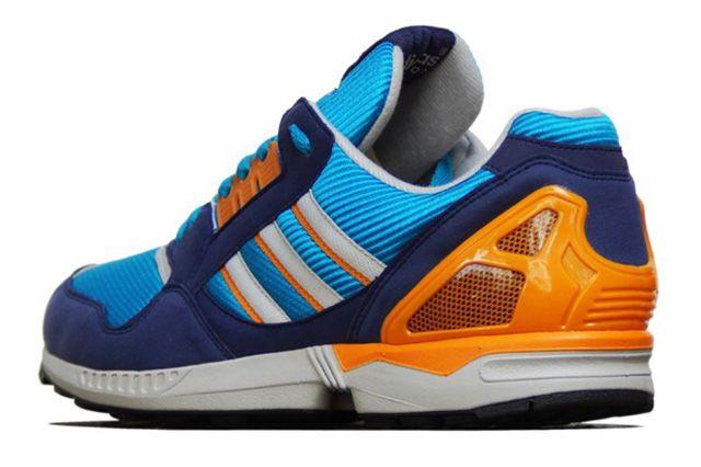 Adidas Zx 9000 Turquoise Orange 4