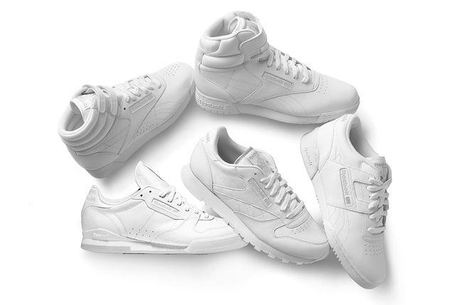 Reebok Classics White Collection 2013 1