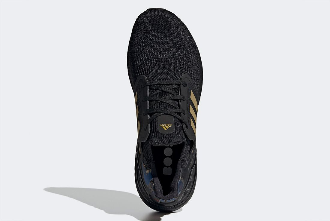 Adidas Ultraboost Cny Black Gold Top