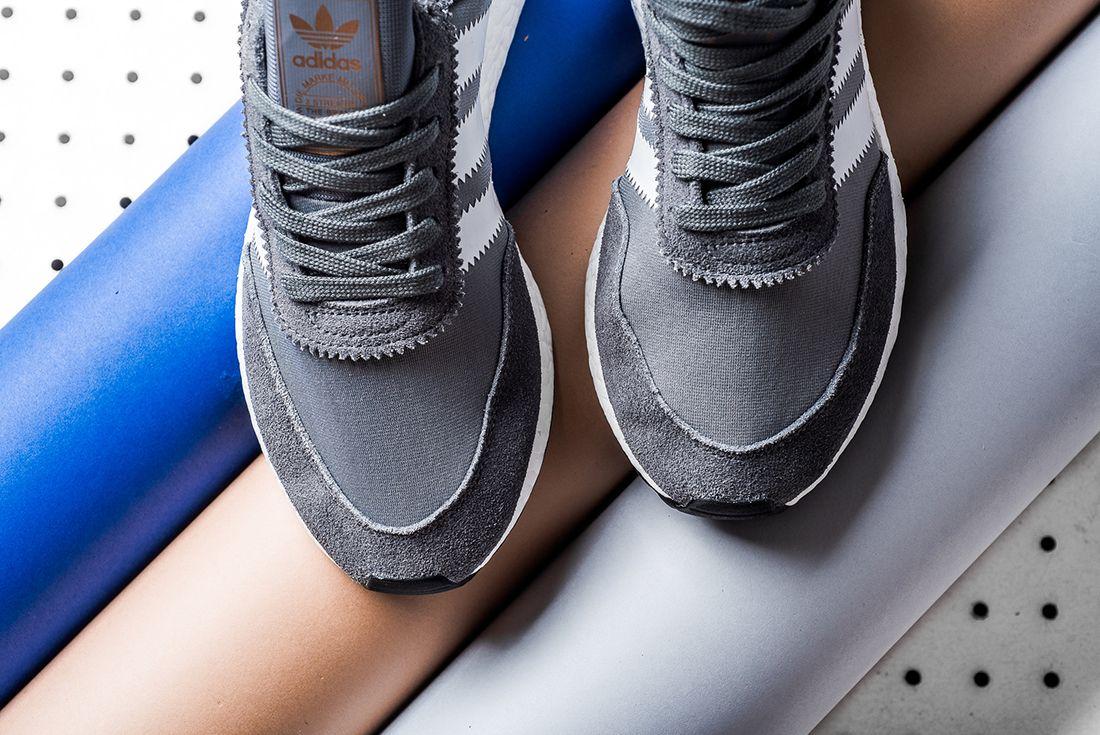 Adidas Iniki Runner Boost Grey White4