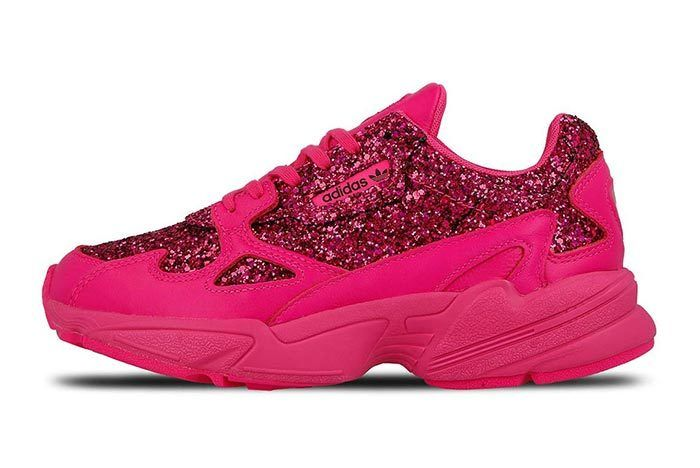 Adidas Falcon Shock Pink Sequins 1