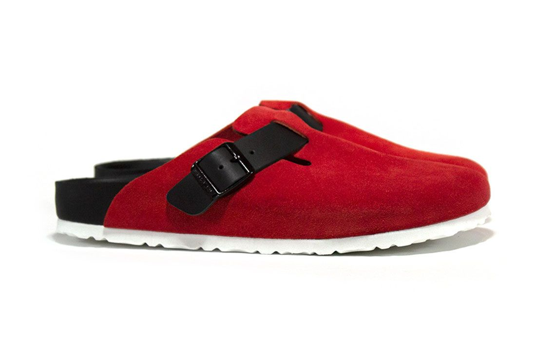 Concepts Birkenstock Boston Rose Front Angle
