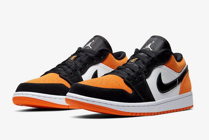 Air Jordan 1 Low Shattered Backboard 553558 128 Front Angle