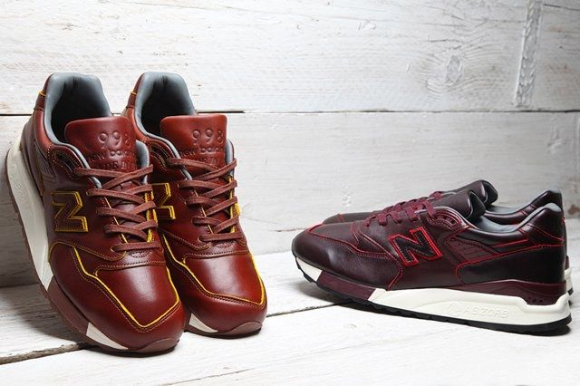 Horween Leather New Balance 998 Pack Bumper 8