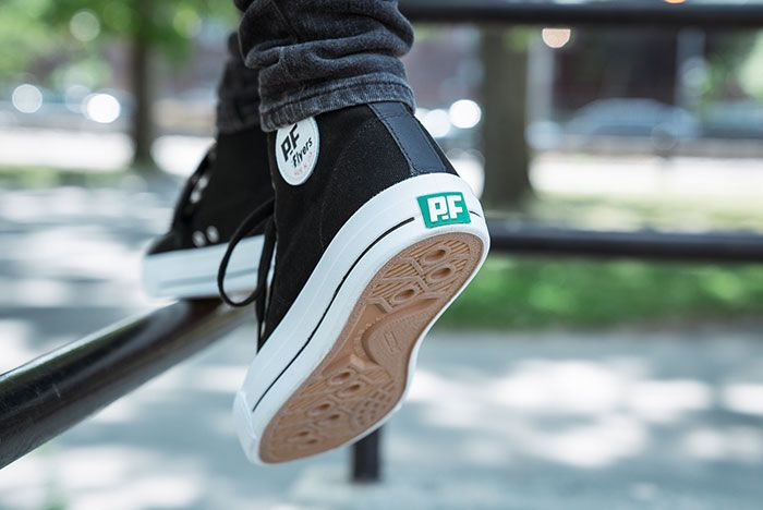 Pf Flyers Made In Use Centre Hi Black 6