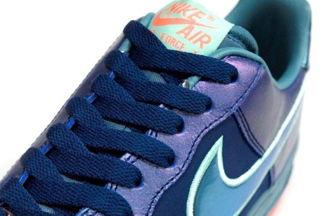 Nike Air Force 1 Blu Sax Orange 1