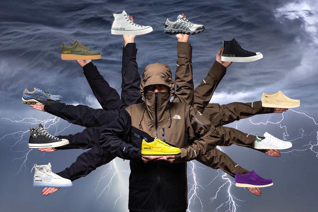 Sneaker Freaker 2019 Gore Tex Sneaker Header