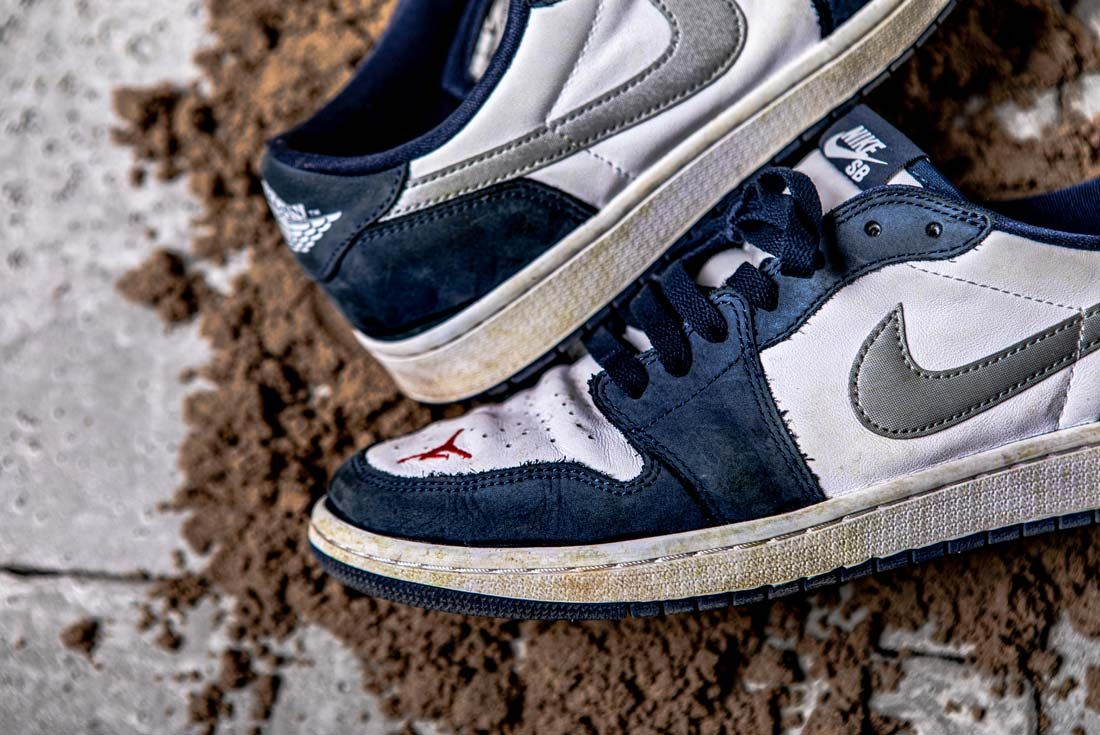 Nike Eric Koston Aj1 Low Toe Box 2