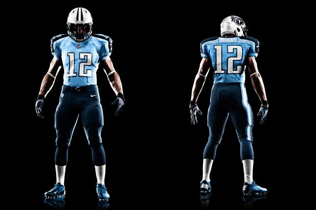 Tennessee Titans Uniform 1