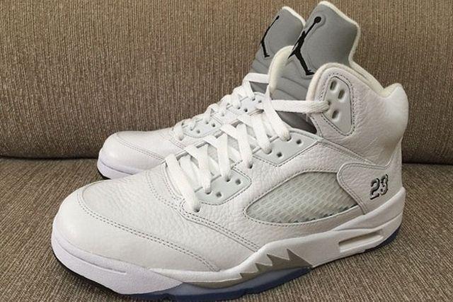 Air Jordan 5 White Metallic 5