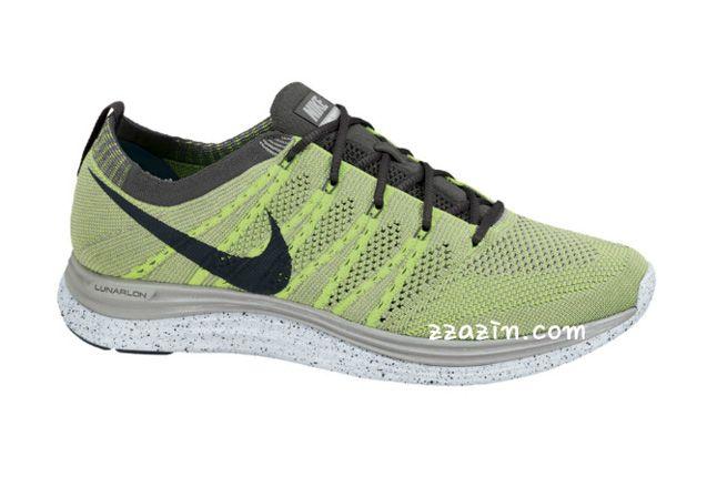 Nike Flyknit Lunar1 Yellow Grey 1