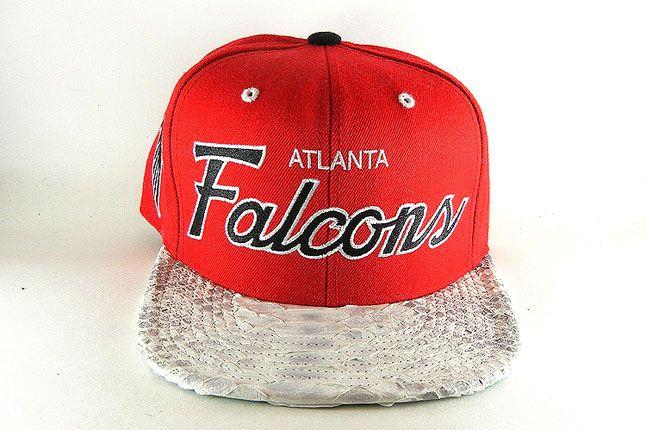 Jbf Custom Cap Atlanta Falcons 1