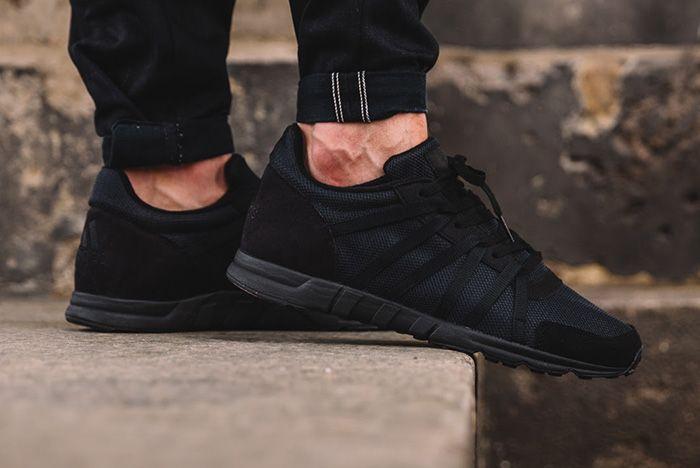 Adidas Eqt 93 Triple Black 1