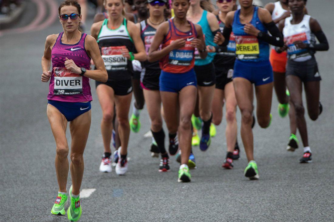 London Marathon Group Nike Zoomx Vaporfly Next Percent Sinead Diver Interview Feature