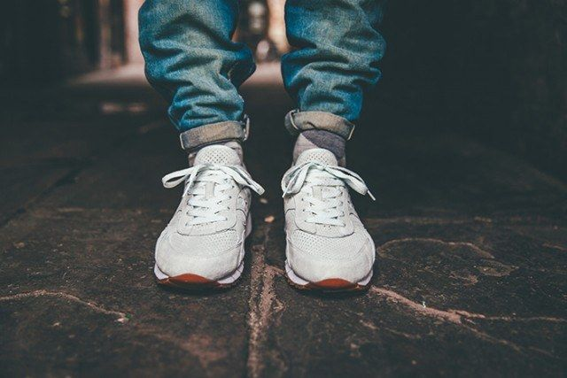 Saucony Irish Coffee Pack On Foot 7 640X4271