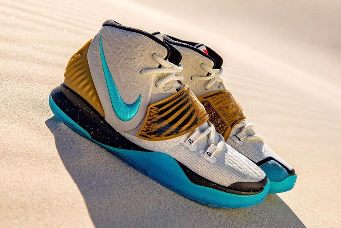 Nike Kyrie 6 Golden Mummy Right