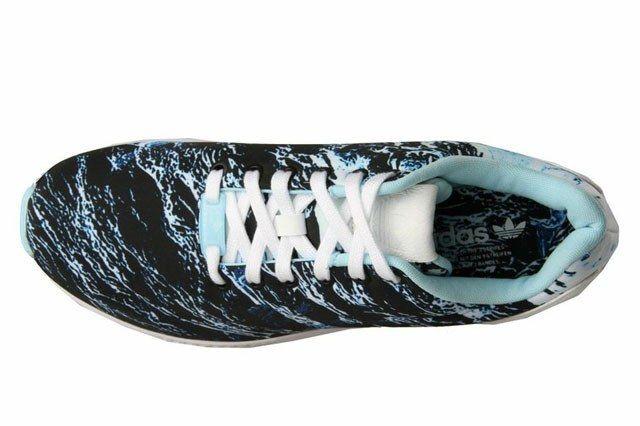 Adidas Zx Flux Blue White 6