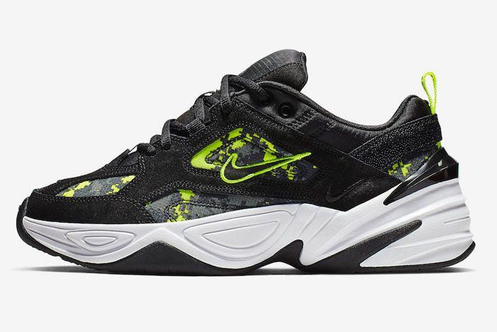 Nike M2K Tekno Pixel Camo Left