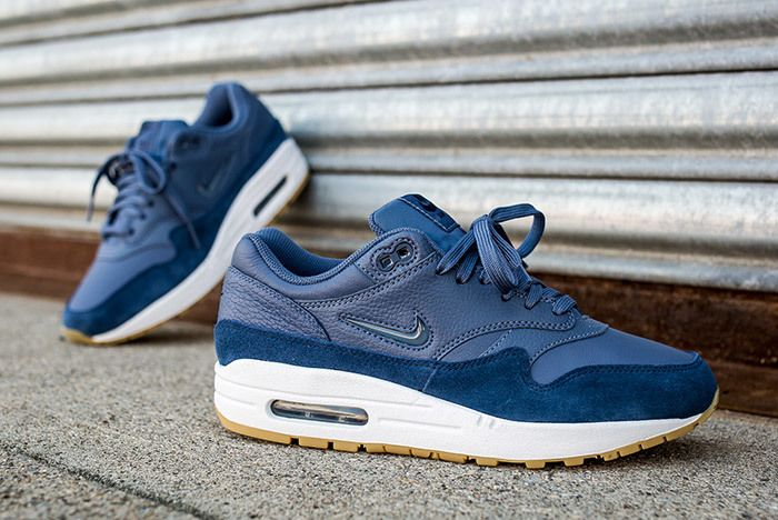 Nike Air Max 1 Jewel Womens Blue 6