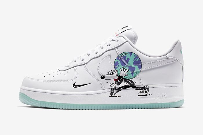 Steven Harrington Nike Air Force 1 Earth Day Release Date Lateral