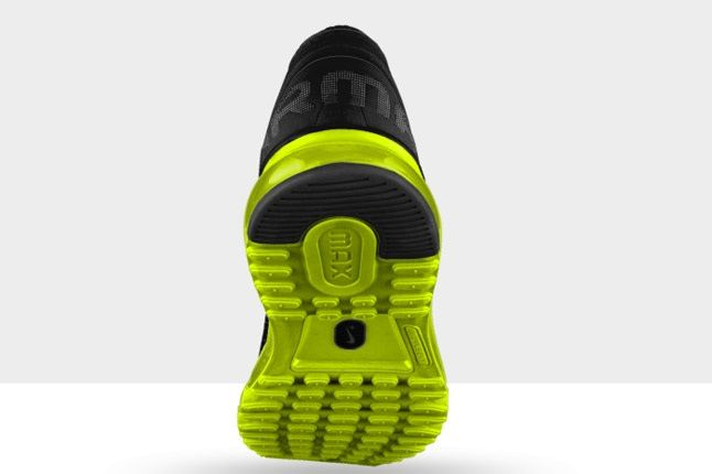 Nikeid Air Max Black Volt Heek 1
