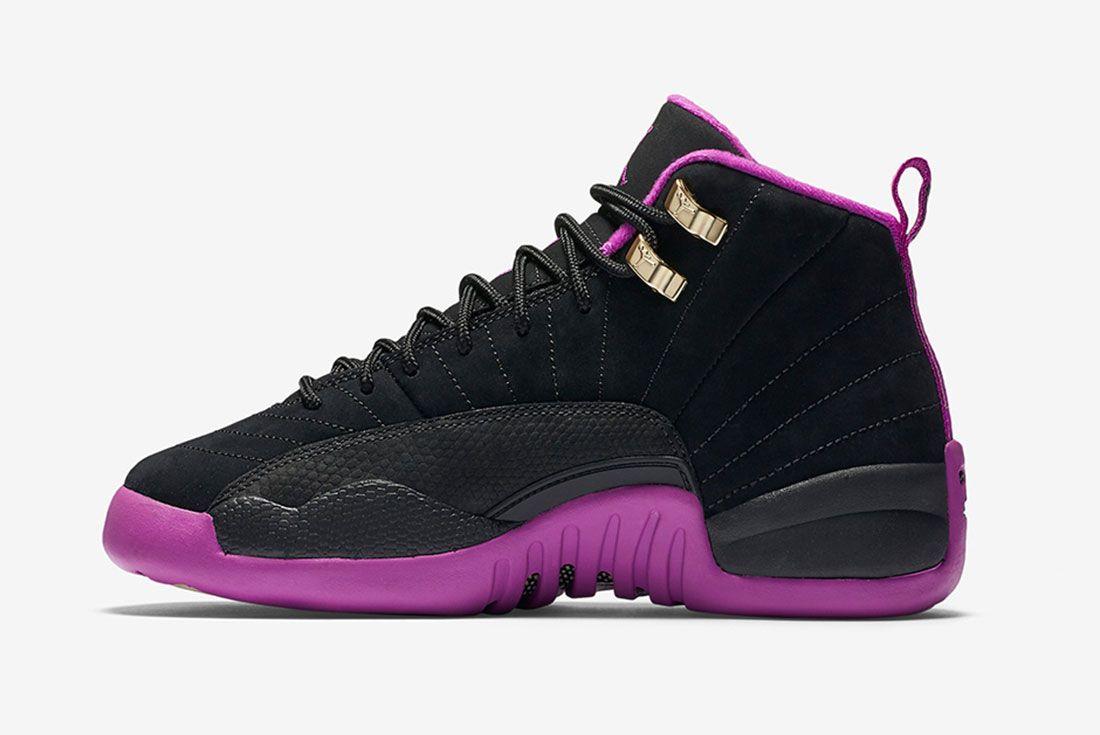 Air Jordan 12 Gs Violet 3