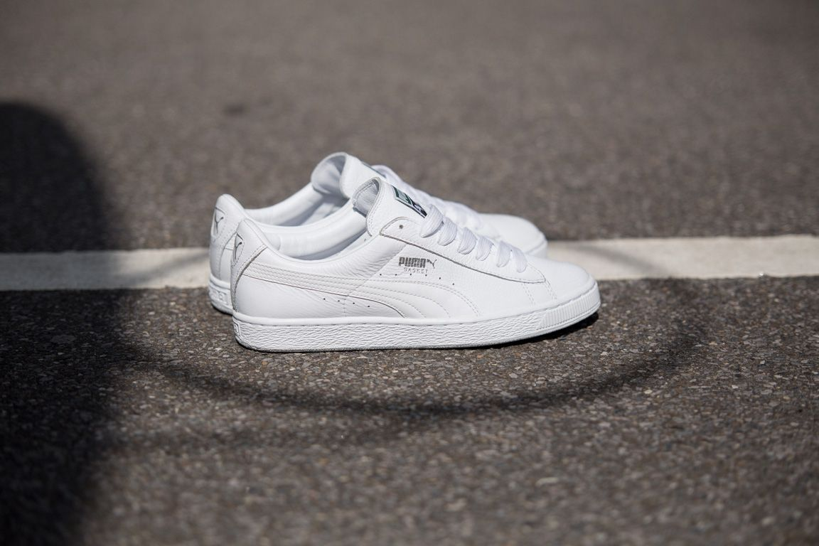 Puma Basket Black And White Pack 1